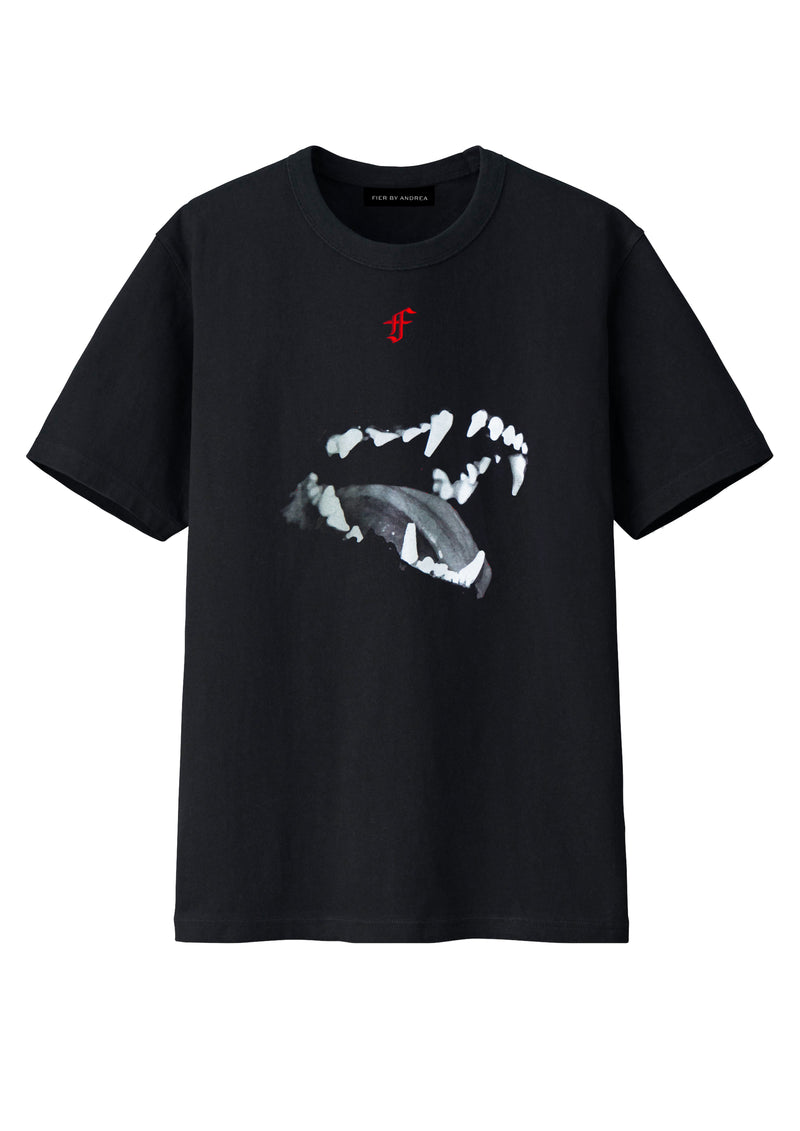Hellhound Tee with embroidery