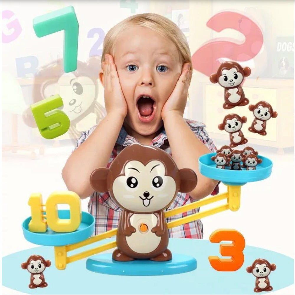 Monkey Balance - Math Game