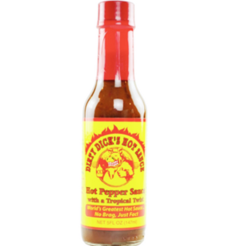 Dirty Dicks Hot Pepper Sauce