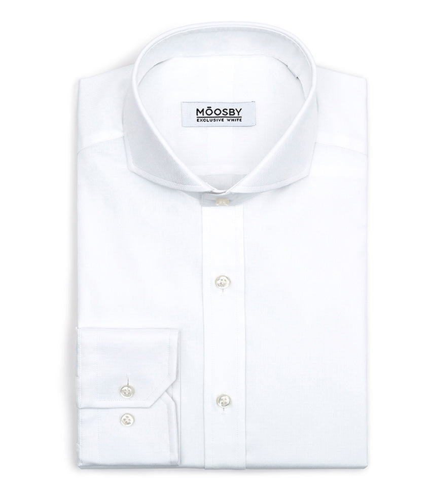 Camisa DUKE Pin Point Blanco 100's Twisted