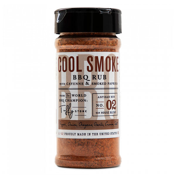 Rub COOL SMOKE BBQ 02 - 5.7 OZ