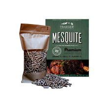 Load image into Gallery viewer, Pellet per affumicatura Mesquite Traeger 500gr