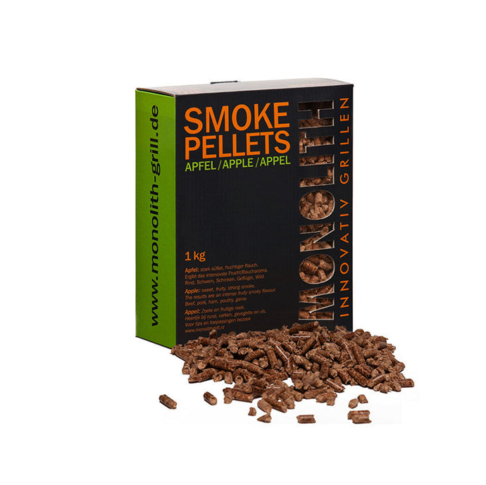 Pellets per affumicatura Melo 1kg - SMOKE PELLETS APPLE Monolith
