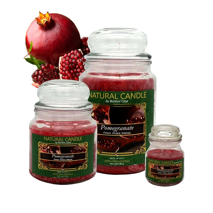 NATURE CANDLE al Pomegranate BONTURI CASA