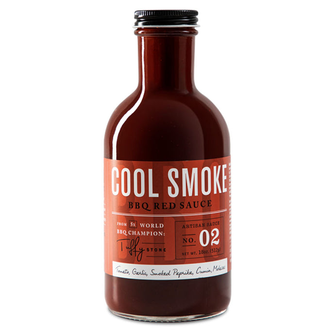 Salsa Barbecue Cool Smoke BBQ Red Sauce 512g