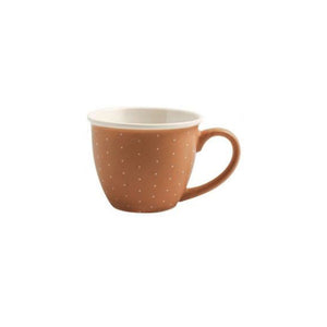 Tazza da caffè Cinnamon in porcellana da 90 ml H&H LIFESTYLE