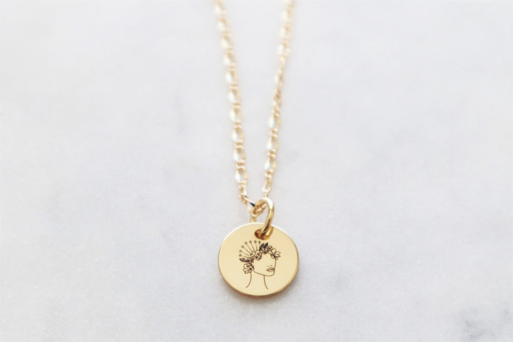 Blossom necklace