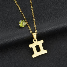 Load image into Gallery viewer, Zodiac Birthstone Necklace