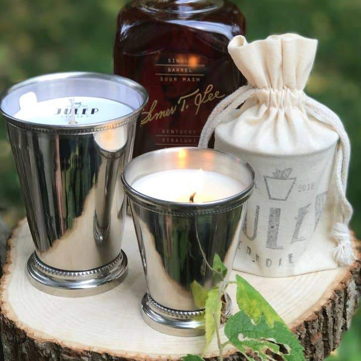 Bourbon & Bluegrass julep candle
