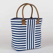 Load image into Gallery viewer, Striped tote bag