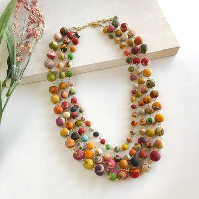 Kantha Karita Necklace