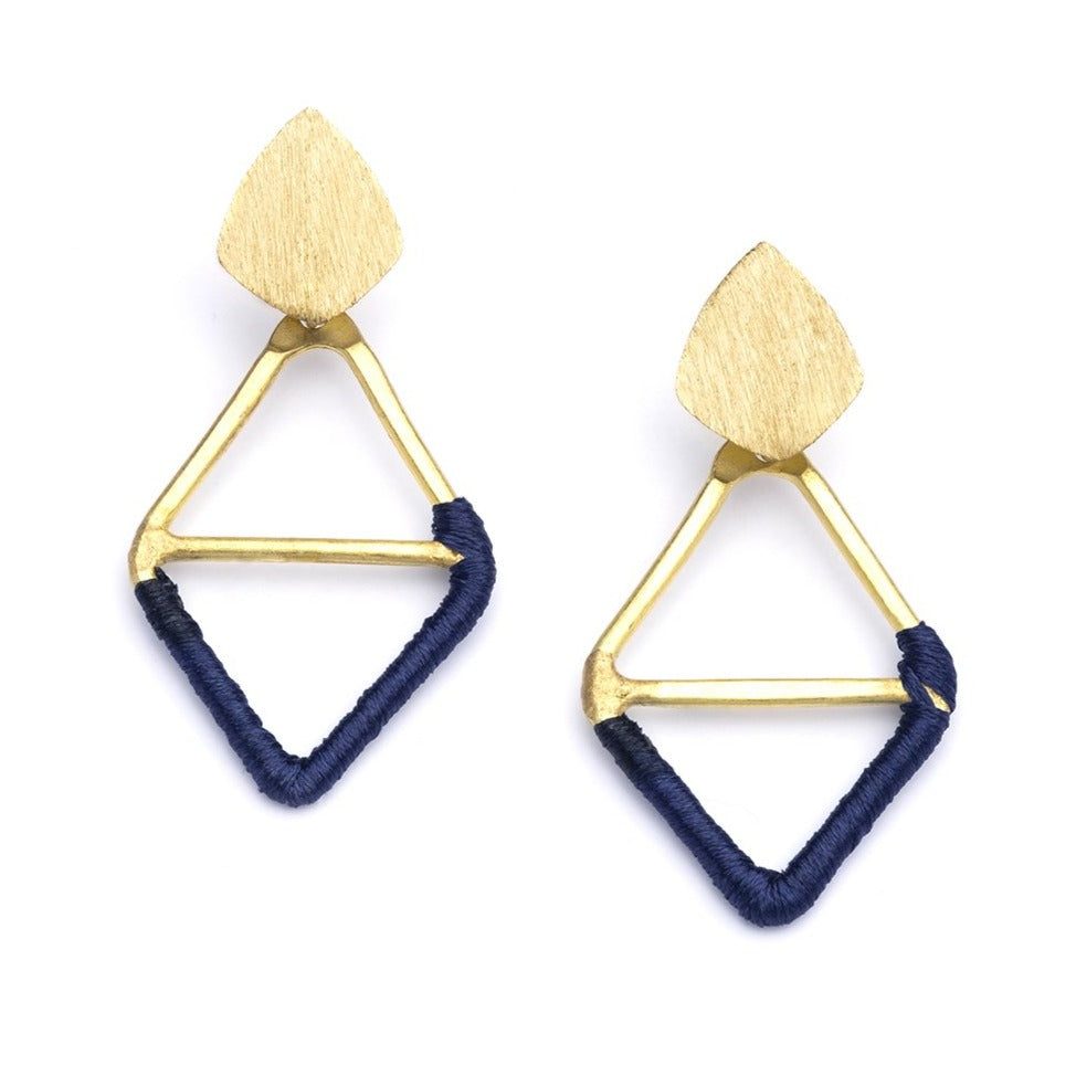 Kaia Diamond Shaped Earrings