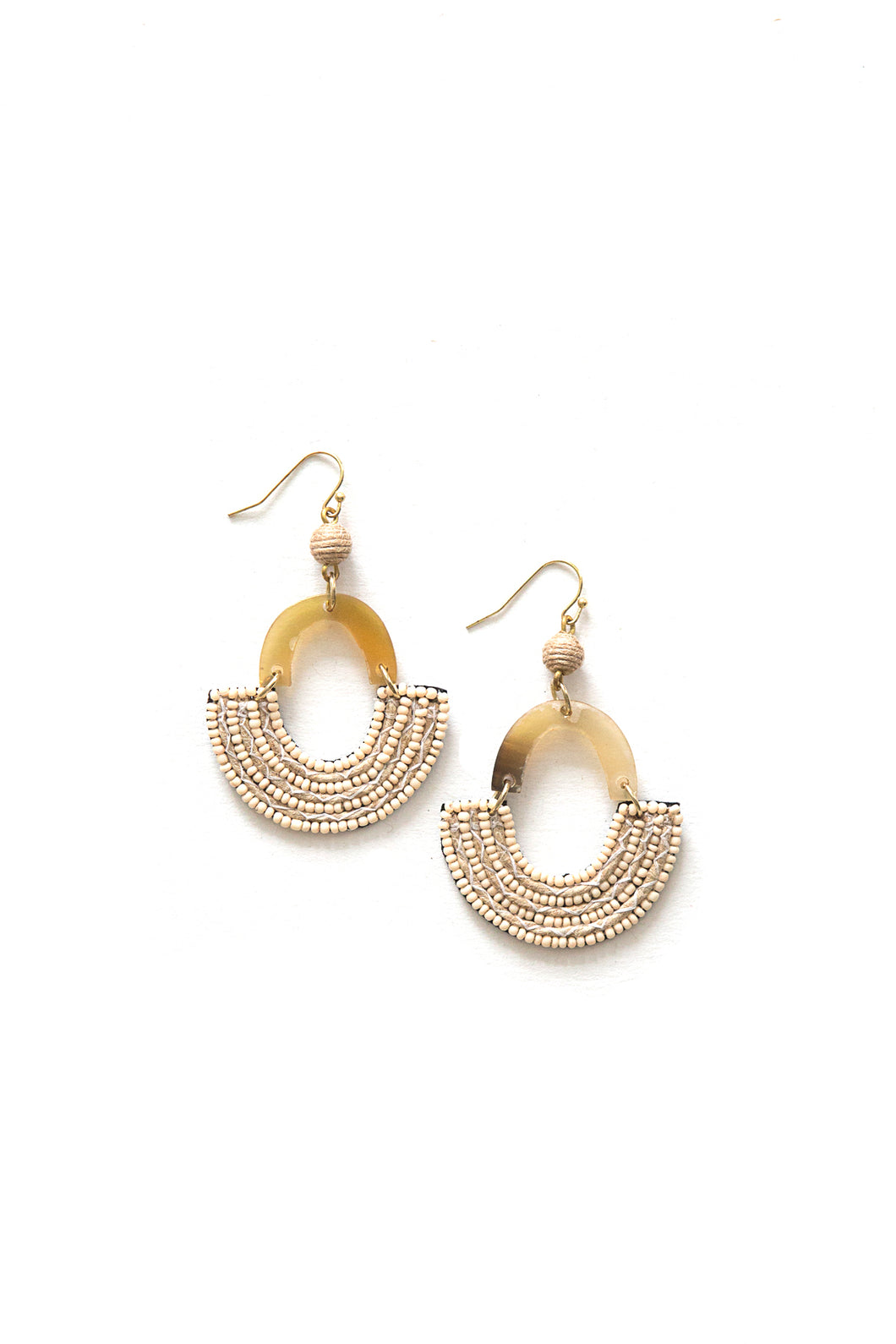 Desert Storm Beaded Earrings