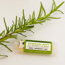 Load image into Gallery viewer, Rosemary Natural Lip Balm