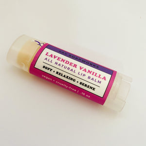 Lavender Vanilla Lip Balm-Small Batch