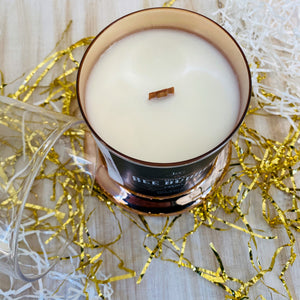 Bee Bubbly Wooden Wick Soy Candle