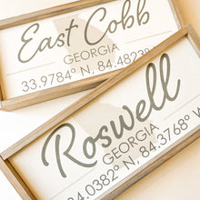 Load image into Gallery viewer, roswell wood sign