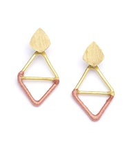 Load image into Gallery viewer, Kaia Diamond Shaped Earrings