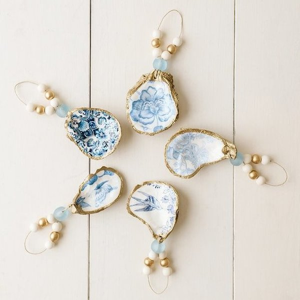 Oyster Ornaments