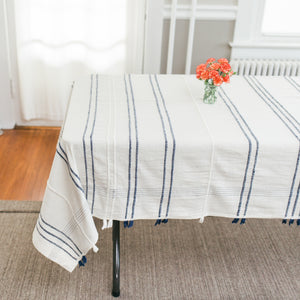 Ribbons Cotton Tablecloth
