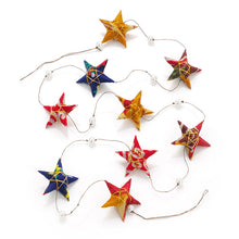Load image into Gallery viewer, Sari Star Garland