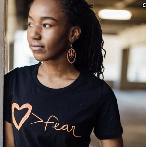Love Greater Than Fear Tee