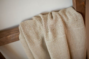 Hand Loomed Cotton Throw