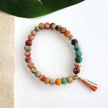 Load image into Gallery viewer, sari bead bracelet