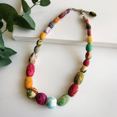 Kantha Halcyon Necklace