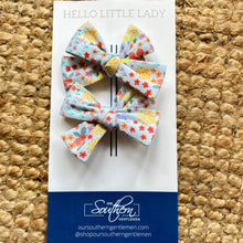 Load image into Gallery viewer, Girls Hair Bows-Set of 2