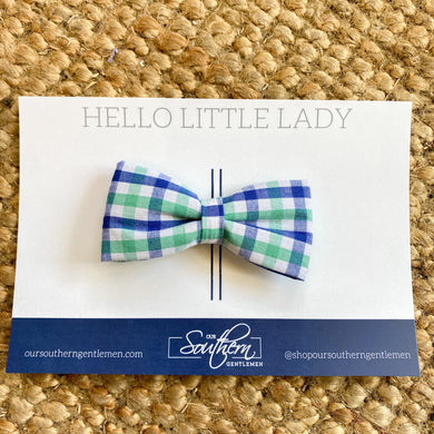 Girls Single Hair Bow