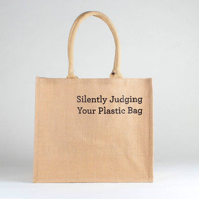Silently Judging Your Plastic Bag Jute Market Tote