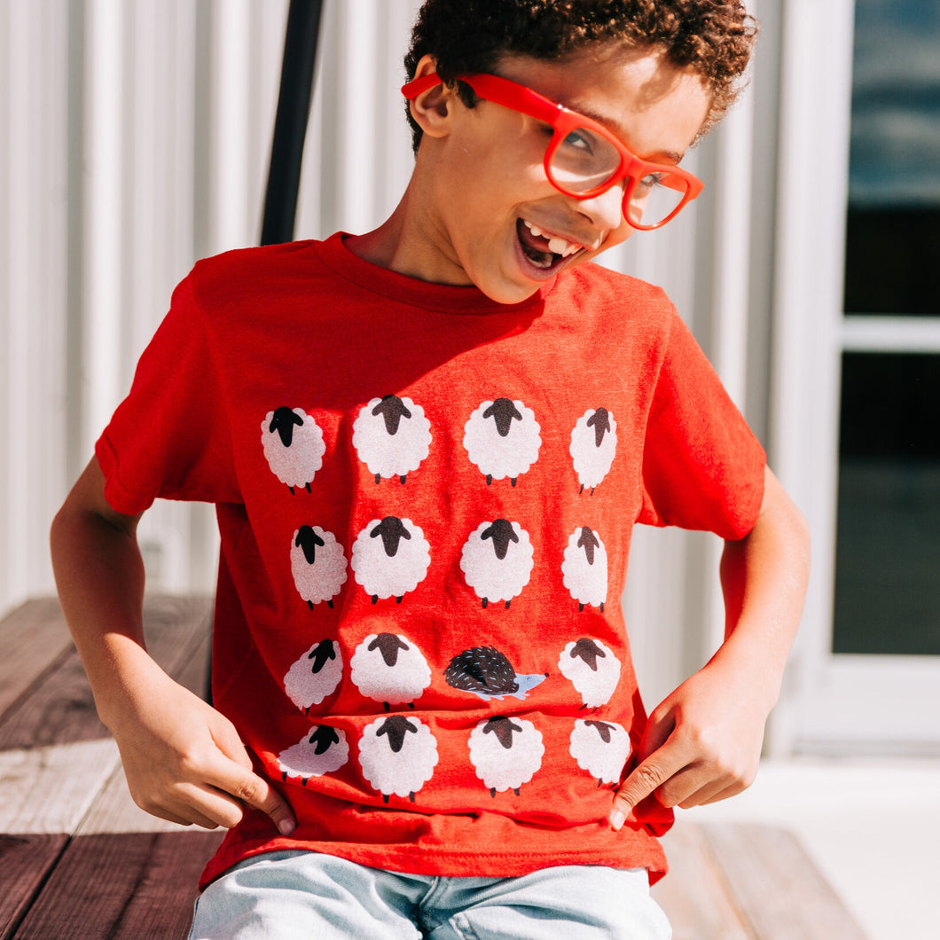 Kids Be A Hedgehog Tee