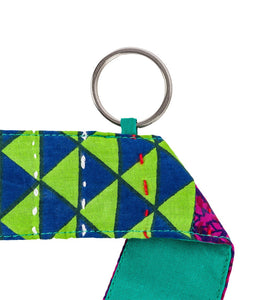 Kantha Colorful Yoga Strap