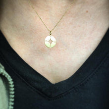 Load image into Gallery viewer, Lead Me Compass Necklace