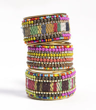 Load image into Gallery viewer, Priya Beaded Cuff