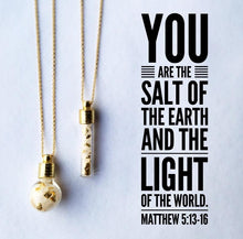 Load image into Gallery viewer, Salt & Light Necklace
