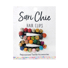 Load image into Gallery viewer, Sari Chic Kantha Hair Clip