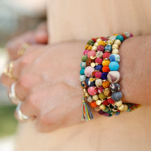 Load image into Gallery viewer, Kantha Bead Bracelet