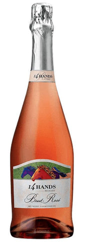 14 Hands Brut Rose Sparkling Wine