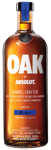 Oak by Absolut, 750mL