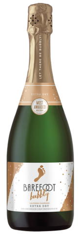 Barefoot Extra Dry Champagne, 750mL
