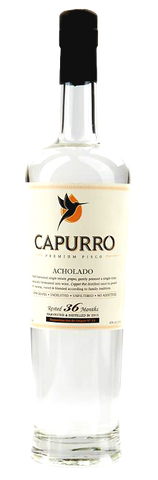 Capurro Pisco Acholado, 750mL