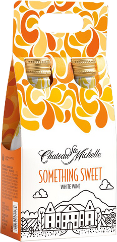 Chateau Ste. Michelle Something Sweet White Wine, 2-pack (250mL)