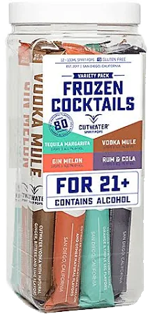 Cutwater Frozen Cocktails Variety Pack