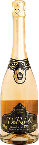 DeRibas Semi-Sweet Rose Sparkling Wine