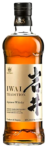 Iwai Mars Tradition Whisky, 750mL