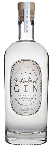Mulholland Gin, 750mL