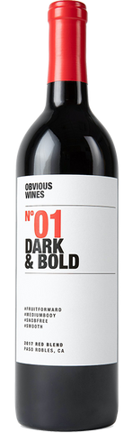Obvious Wines No 01 Dark & Bold Red Blend, 2017