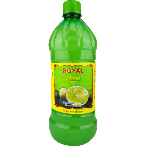 Royal Lime Juice 32oz